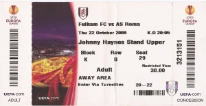 Fulham Haynes - Roma