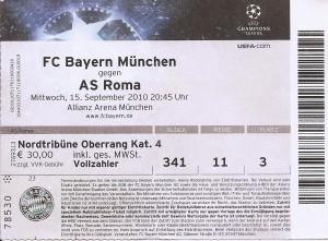 1 Biglietto Bayer Monaco