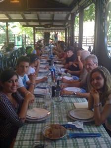 trasferta a milano-il pranzo